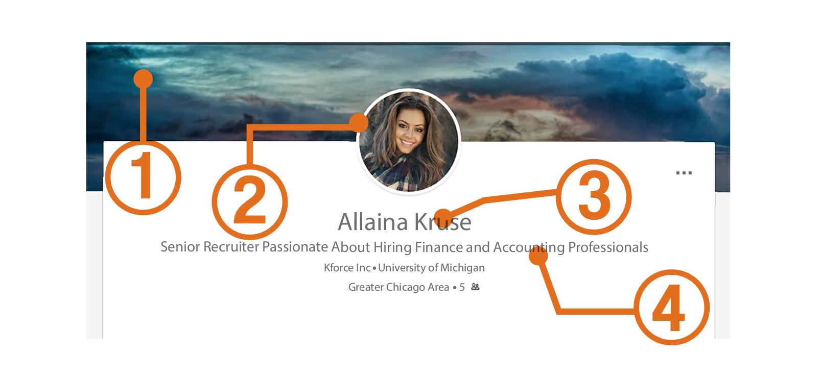 LinkedIn professional brand