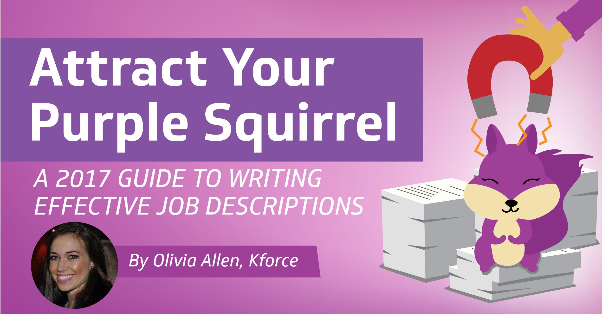 Write effective job descriptions & attract talent