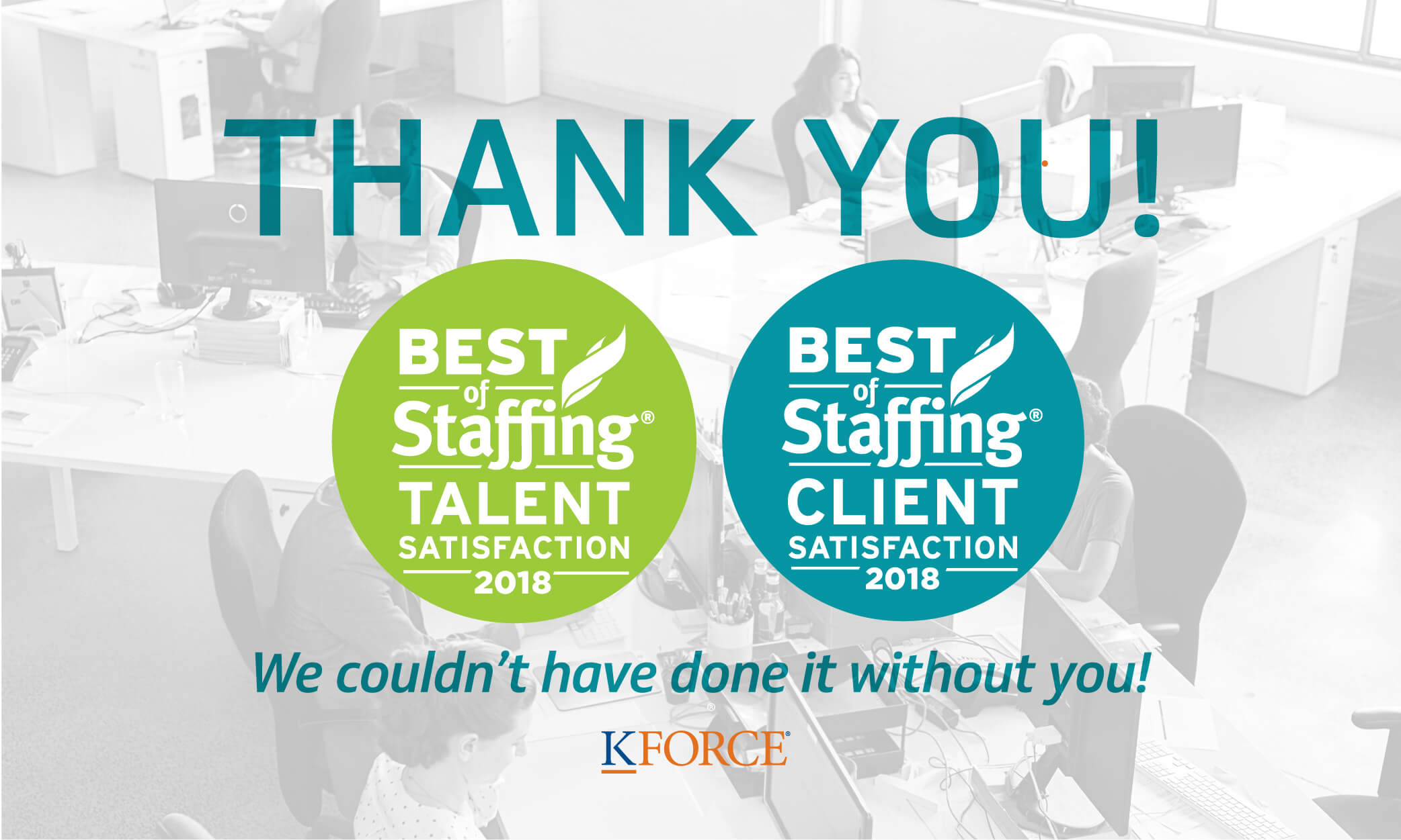 kforce wins best of staffing