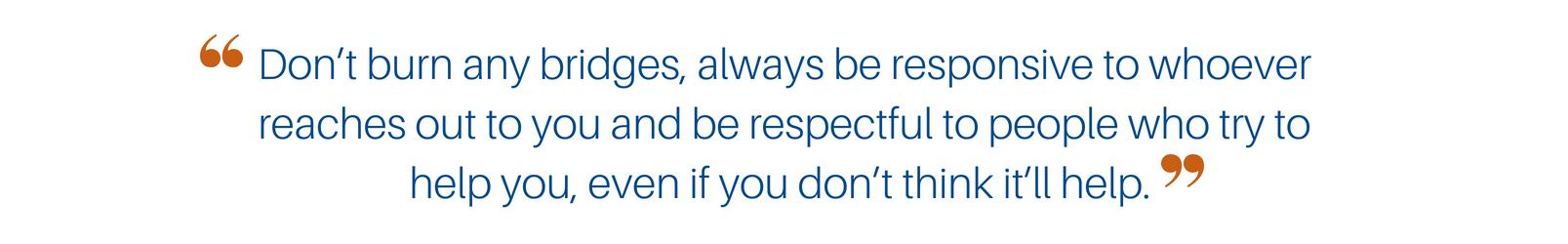 Career Advice from Courtney Radin