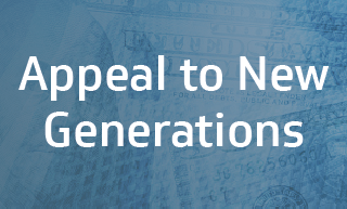 Appeal to new generations
