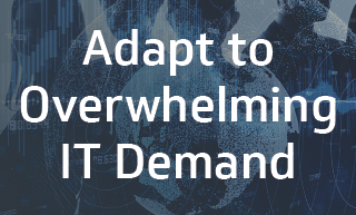 Adapt to overwhelming IT demand
