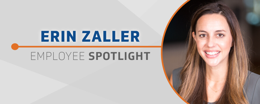 Employee Spotlight Erin Zaller