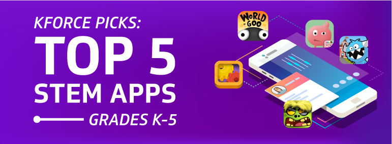 Top 5 STEM Apps K-5