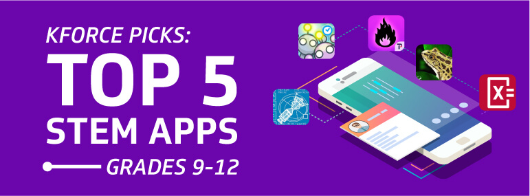 Top 5 STEM Apps Grades 9-12