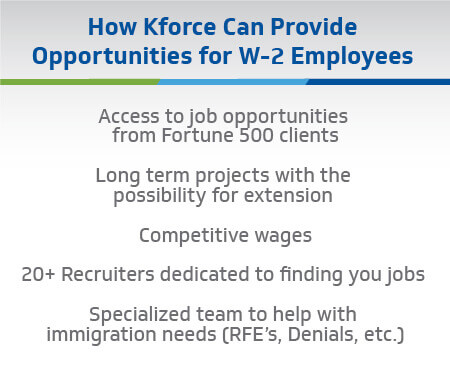 opportunities for W-2 employees