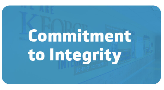 Commitment to Integrity