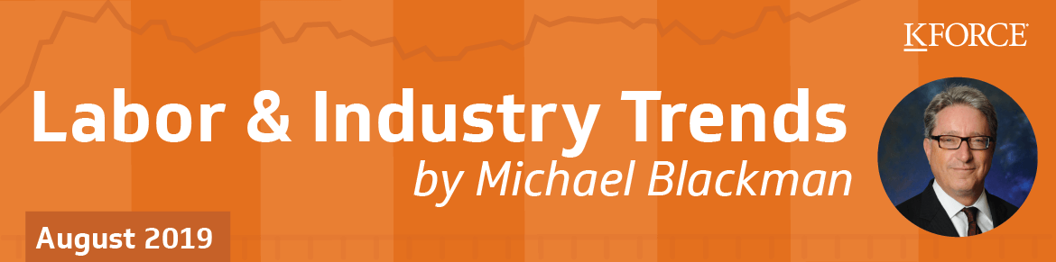 Labor and Industry Trends August 2019