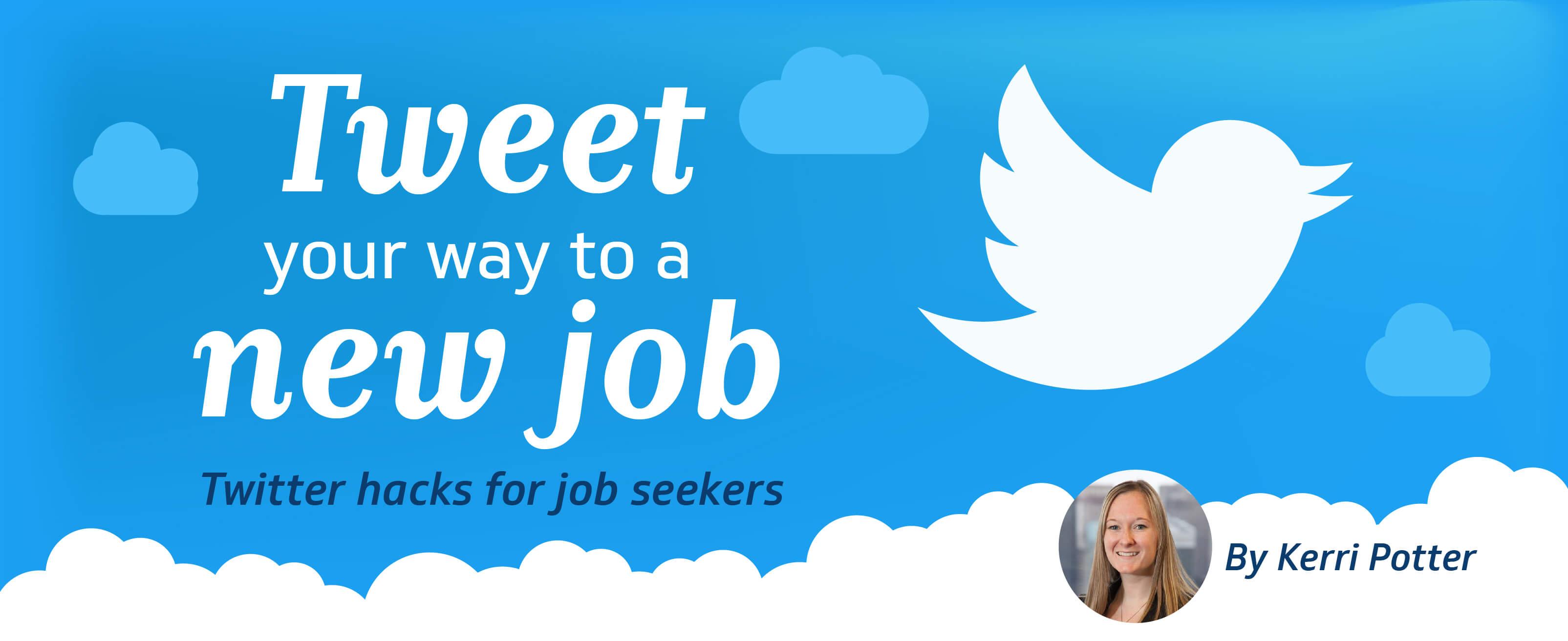 twitter hacks for job seekers