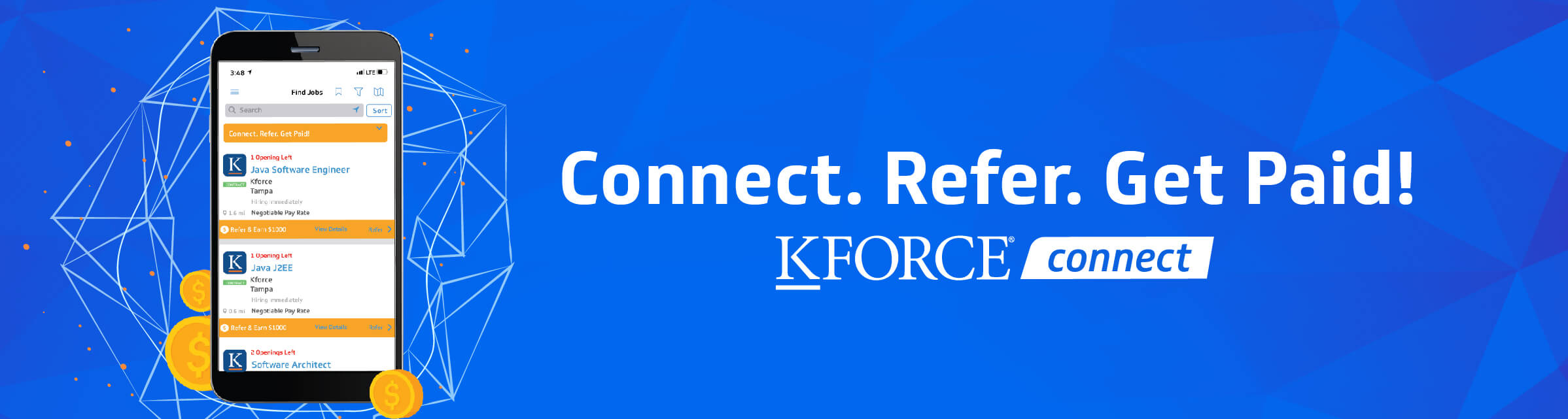 KFORCEconnect referral app