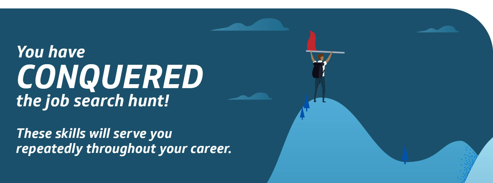 you have conquered the job search hunt - search jobs