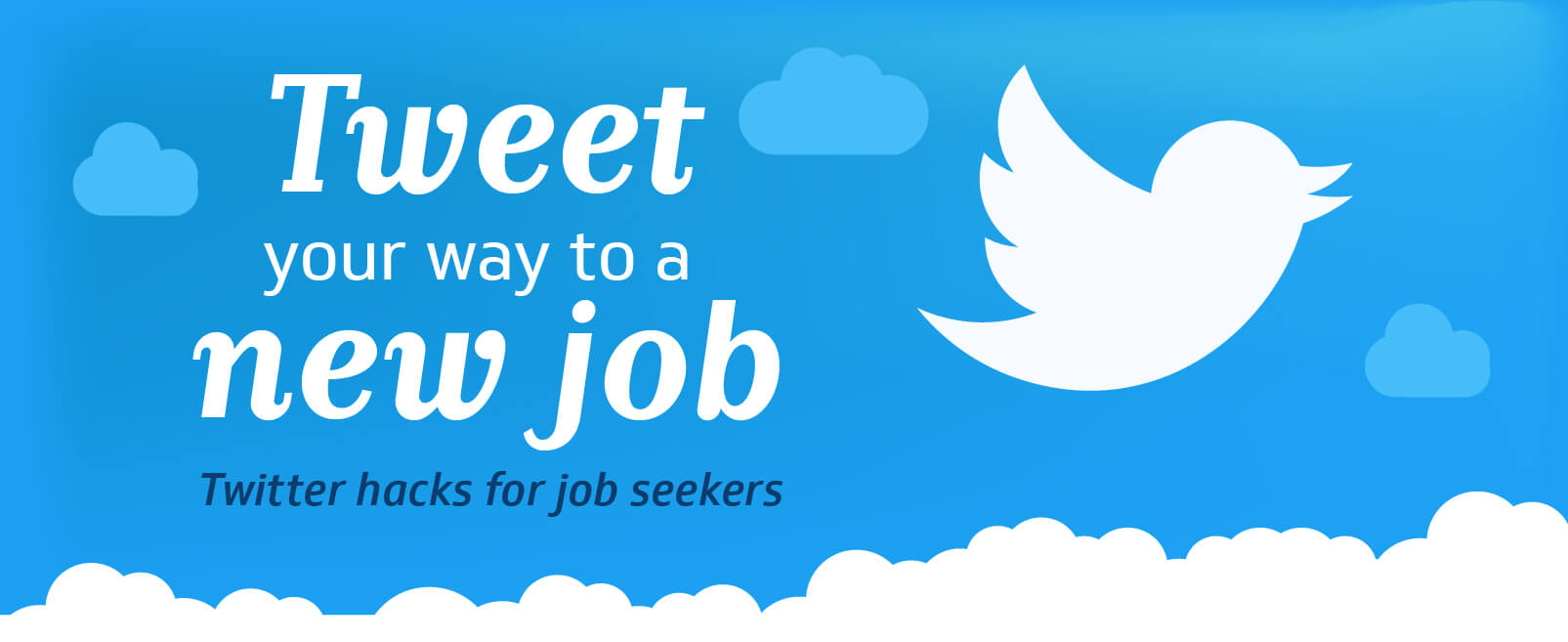 twitter hacks for job seekers