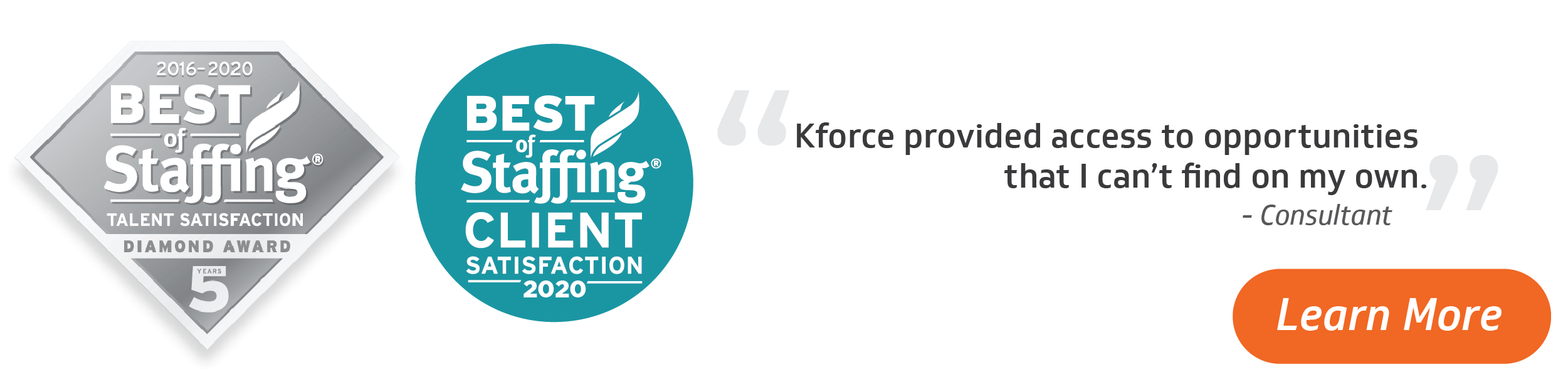 Kforce Wins Best of Staffing 2020