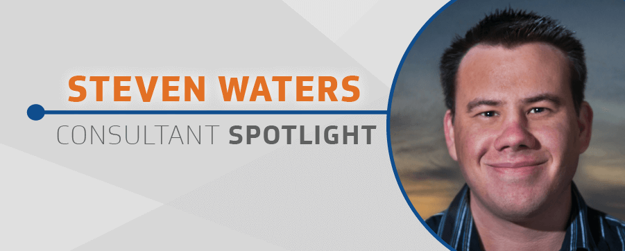 Consultant Spotlight Steven Waters