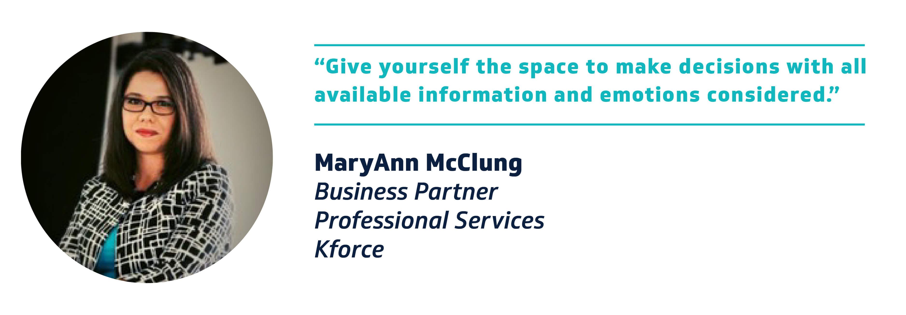 MaryAnn McClung