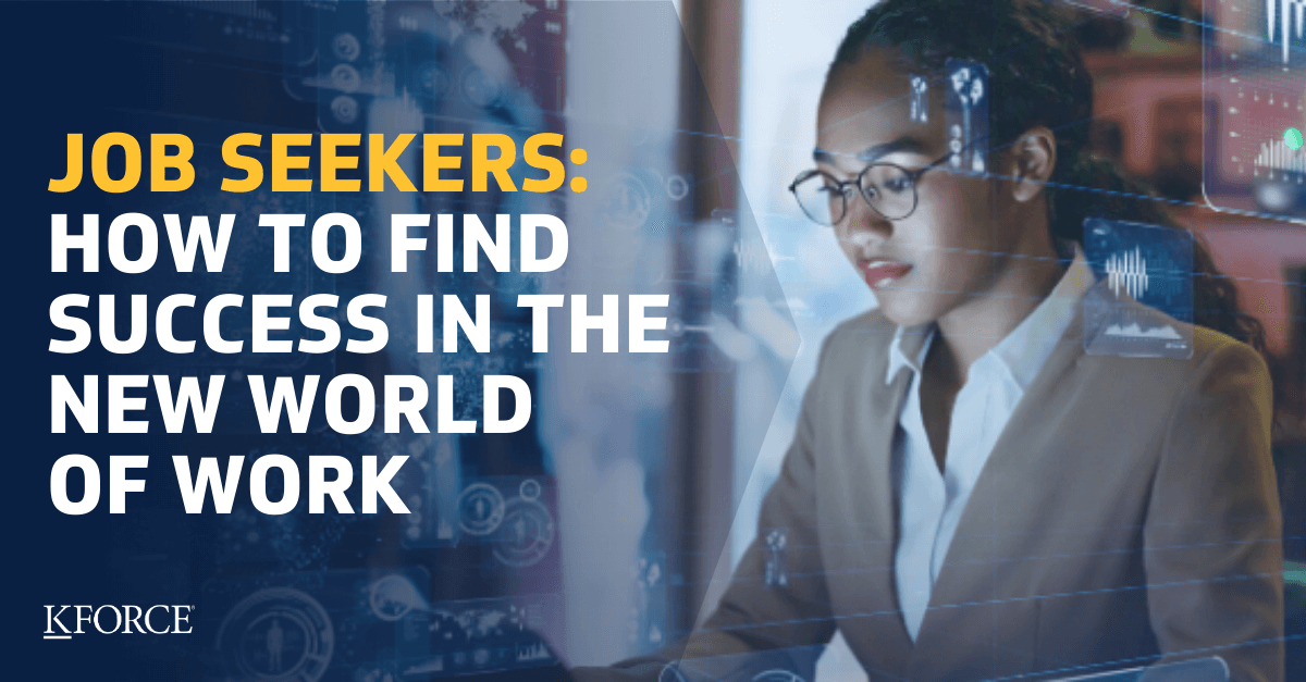 Job Seekers How to Find Success in the New World of Work