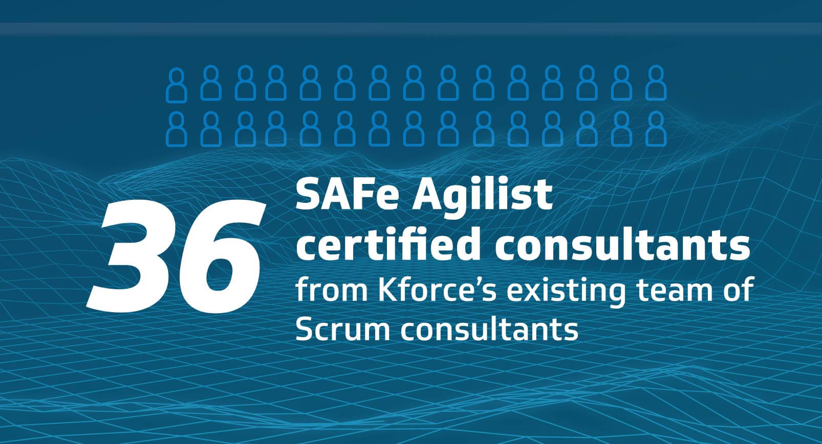36 SAFe agilist certified consultants