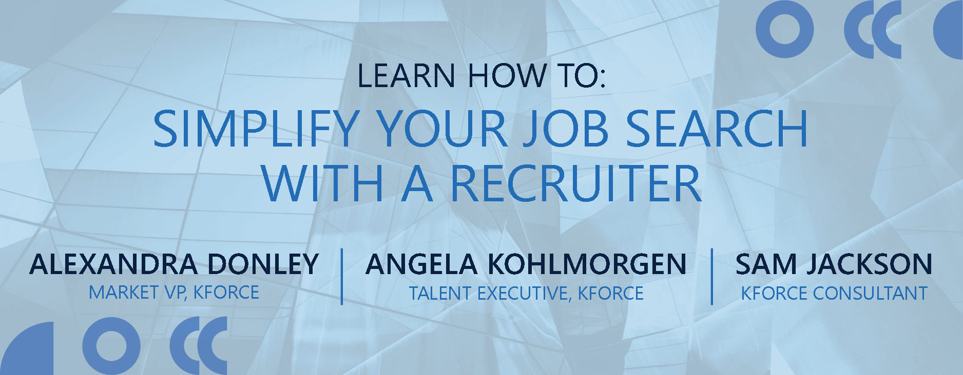 Simplify Your Job Search With a Recruiter