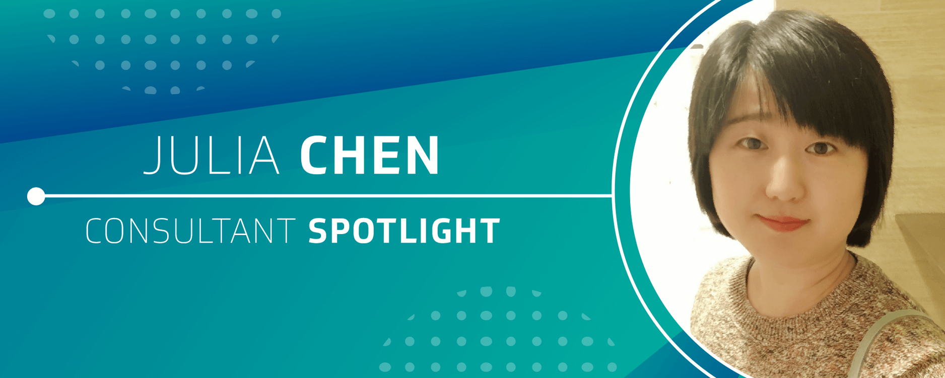 Consultant Spotlight: Julia Chen