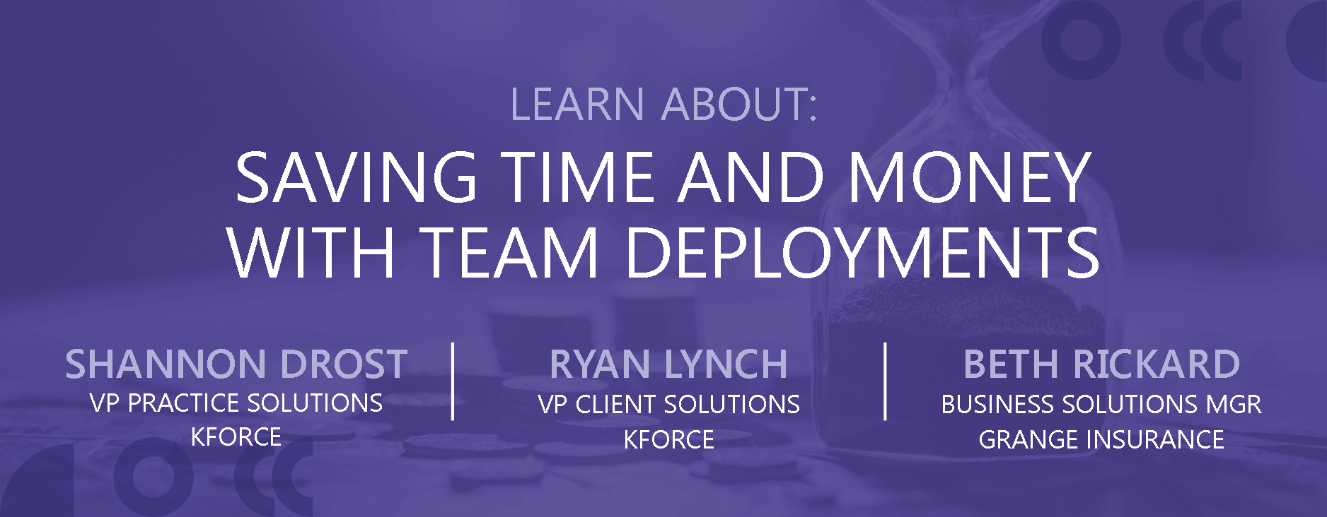 Saving Time and Money With Team Deployments
